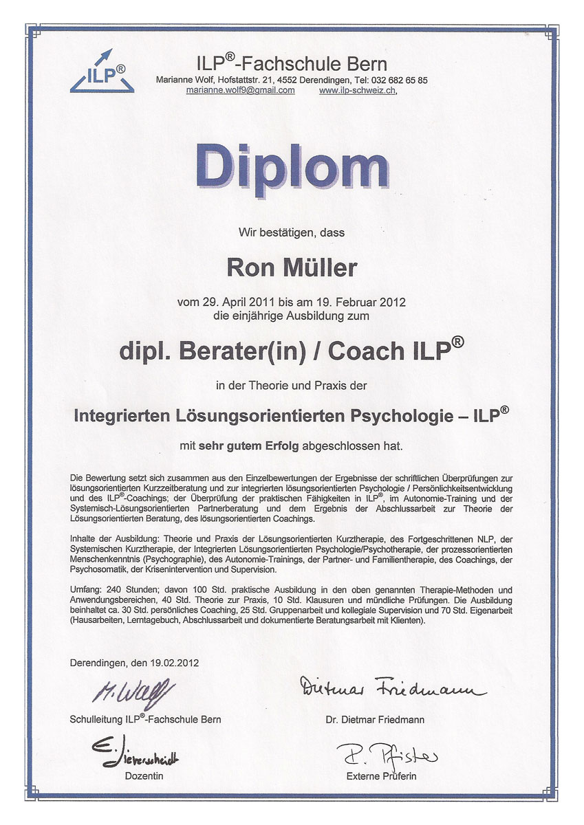 Berater Coach ILP